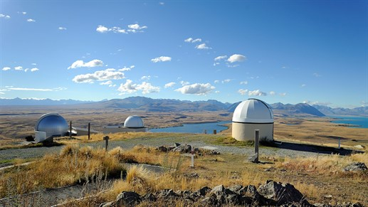 Christchurch - Gör ett besök på Mount John University Observatory at Tekapo