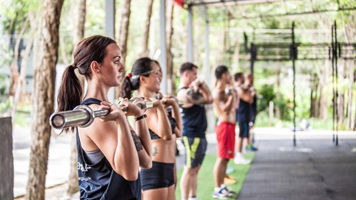 Crossfit in Thailand