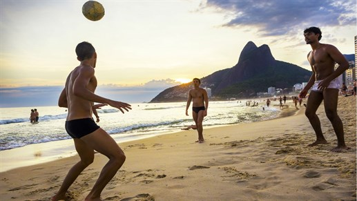 Guys On Ipanema Beach1280 720
