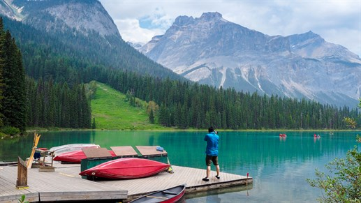 Lake Louise i Kanada