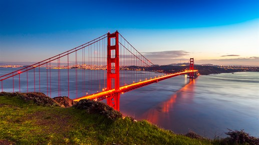 Golden Gate-bron - San Francisco