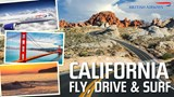 California Fly, Drive & Surf