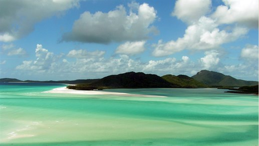 Segla Whitsunday Islands i Australien