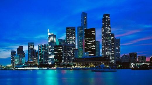 Skyskrapor i Singapore