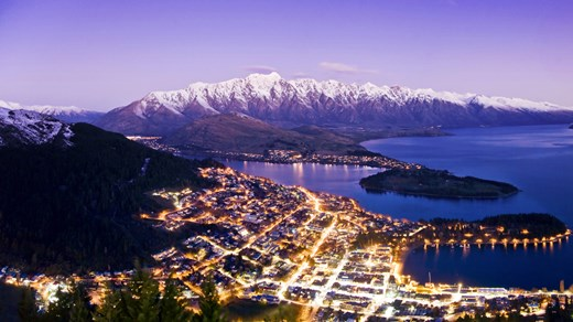 Queenstown by night!