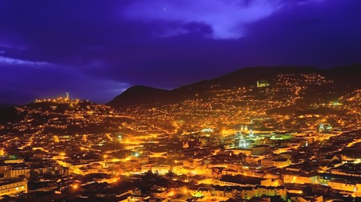 Quito by night!