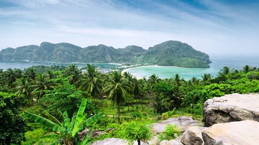 Koh Phi Phi bjuder på magiska vyer