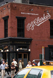 Restaurangen PJ Clarks i New York
