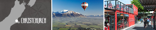 Visit Christchurch - the capital of the East Coast