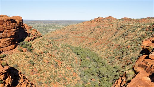 Resor & backpacking i Australien - Fantastiska Kings Canyon