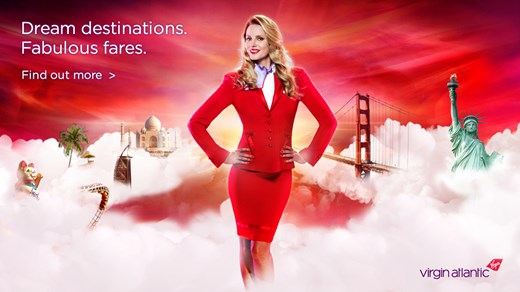 Flyg med Virgin Atlantic