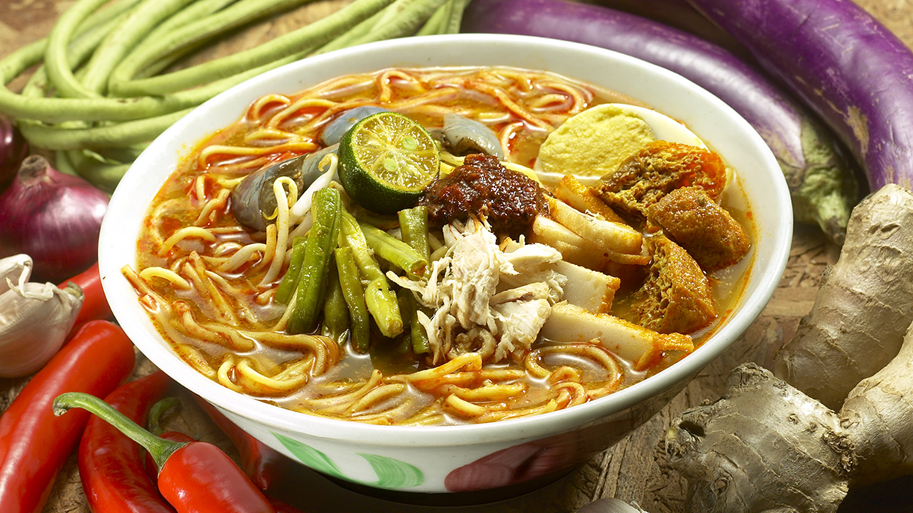 Singapore -curry -mee