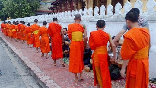 Emmely Laos Luang Prabang Monks