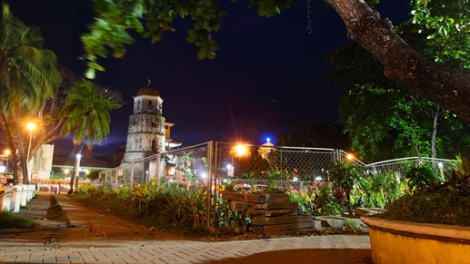 Dumaguete Church By Night